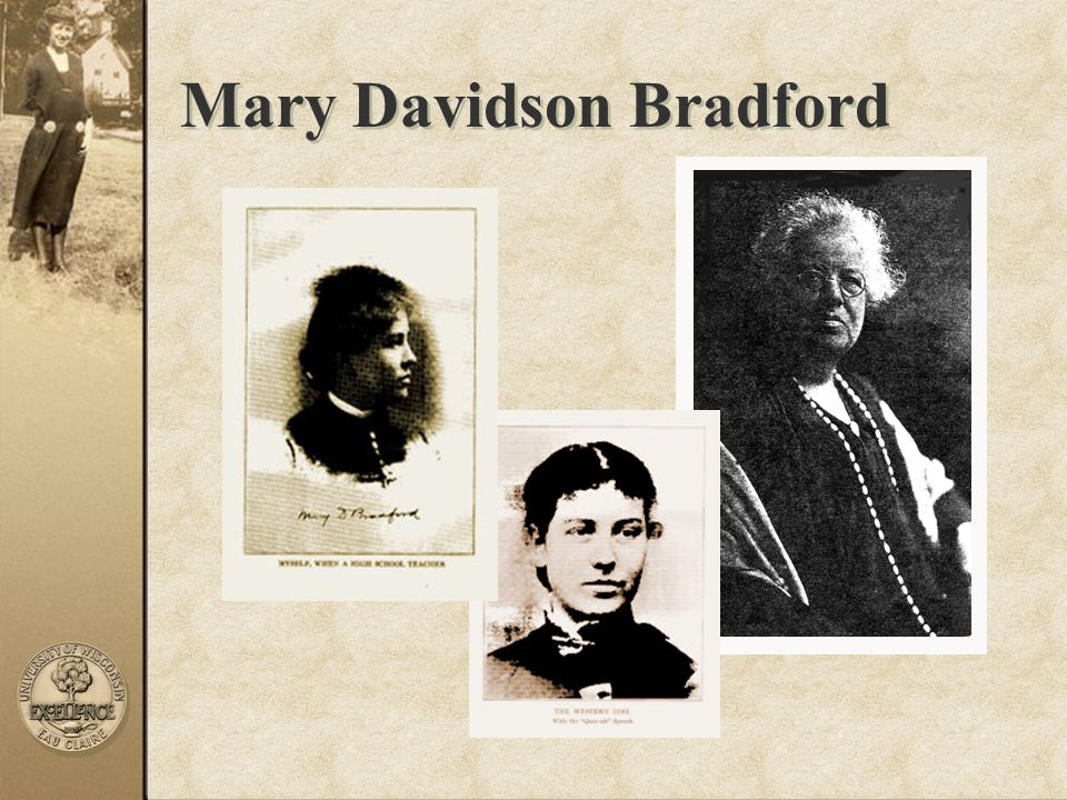 Mary Davidson Bradford