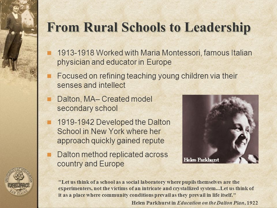 From Rural Schools to Leadership