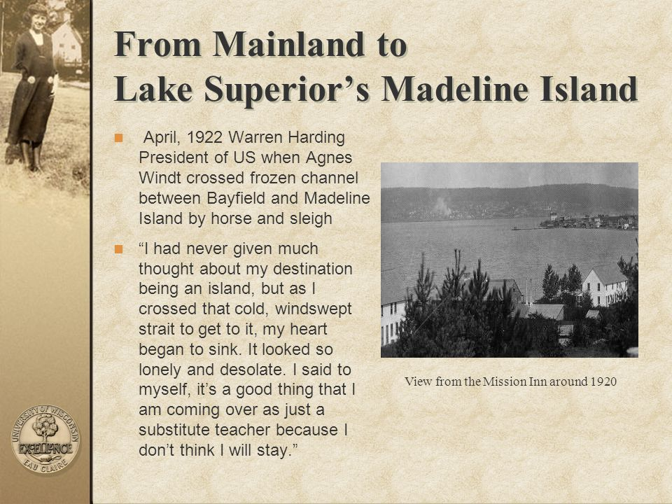 From Mainland to Lake Superior's Madeline Island