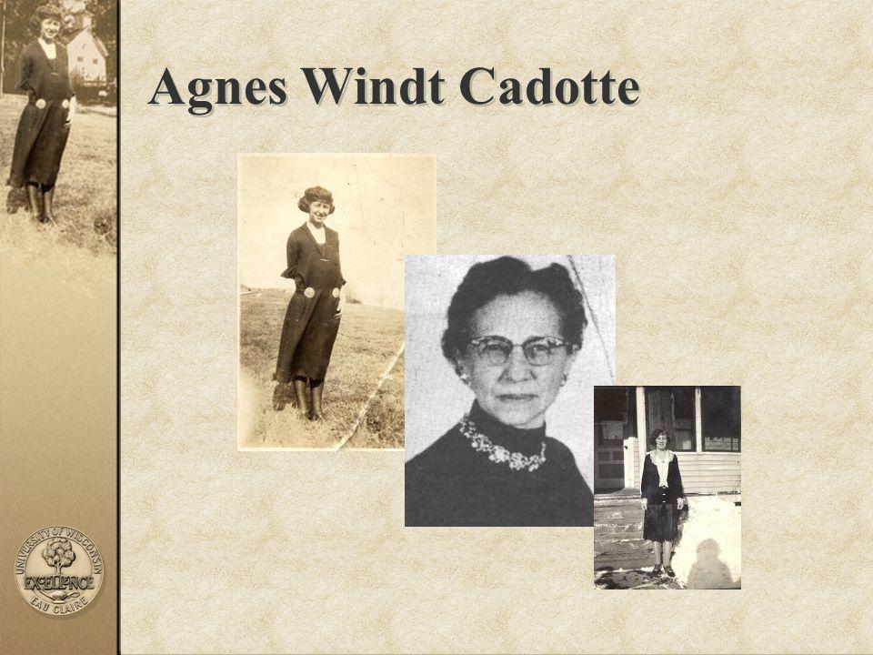 Agnes Windt Cadotte