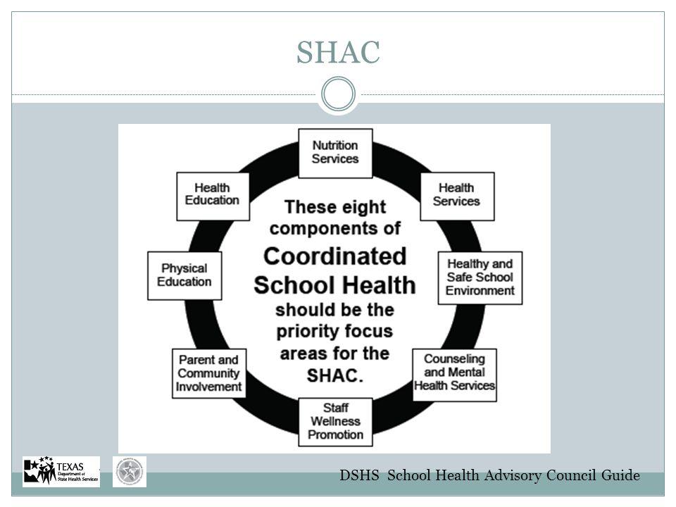 SHAC DSHS School Health Advisory Council Guide