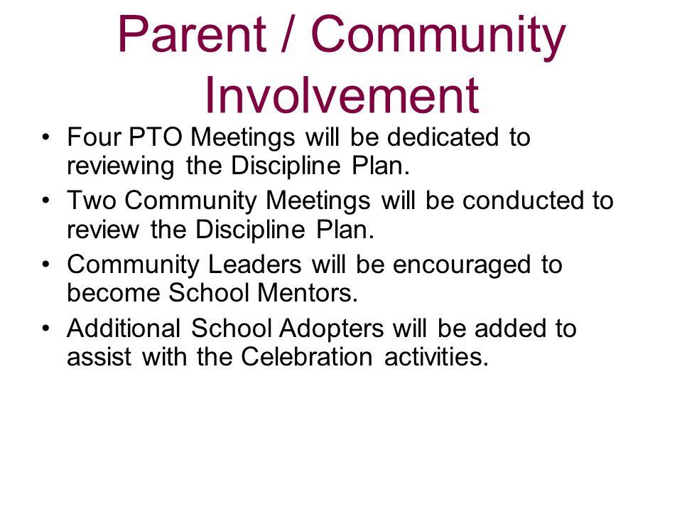 Parent / Community Involvement