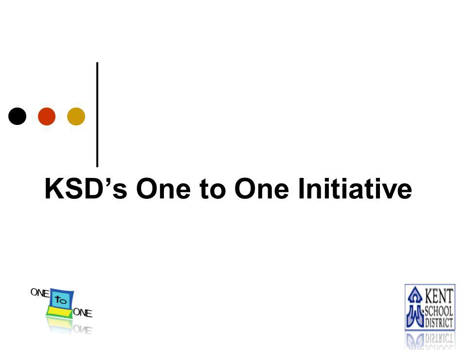 KSD's One to One Initiative