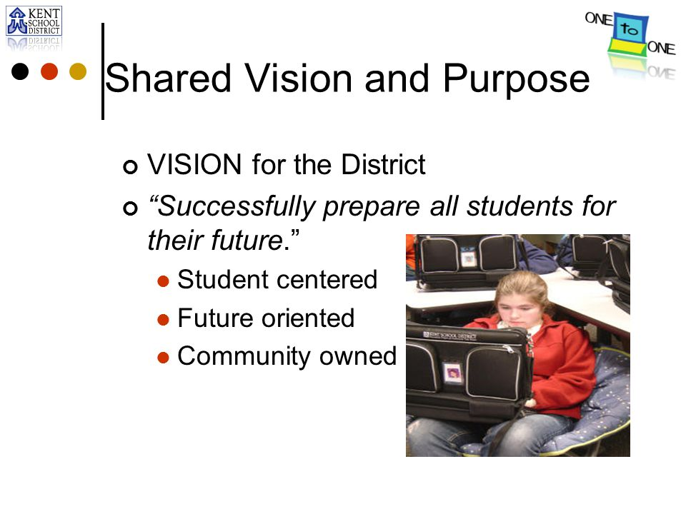 Shared Vision and Purpose