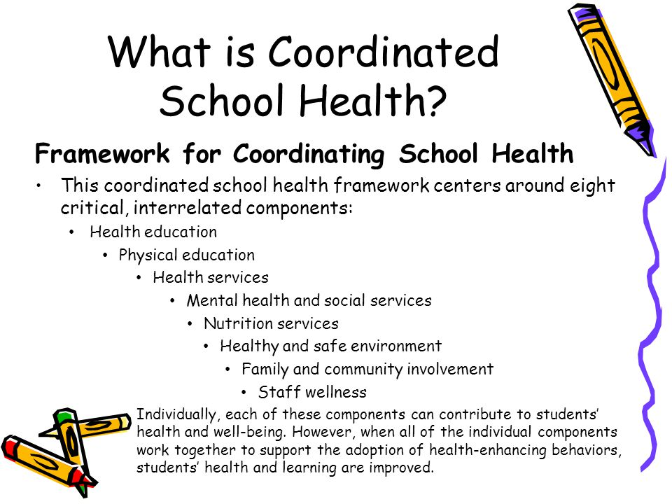What is Coordinated School Health