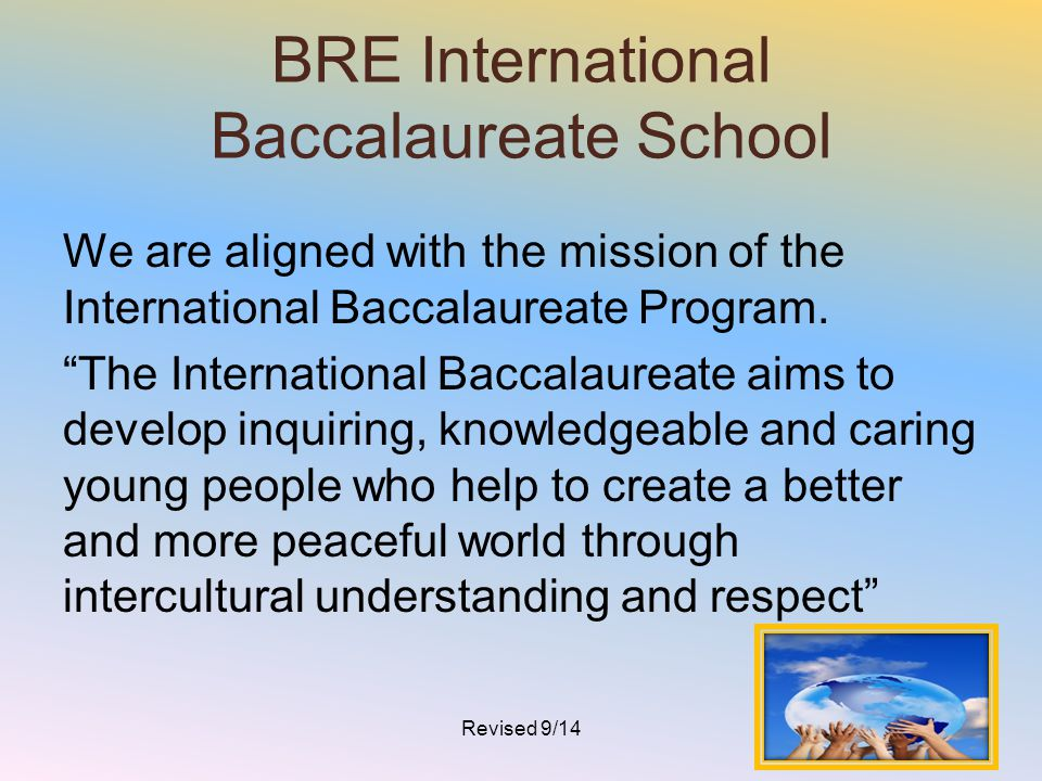 BRE International Baccalaureate School