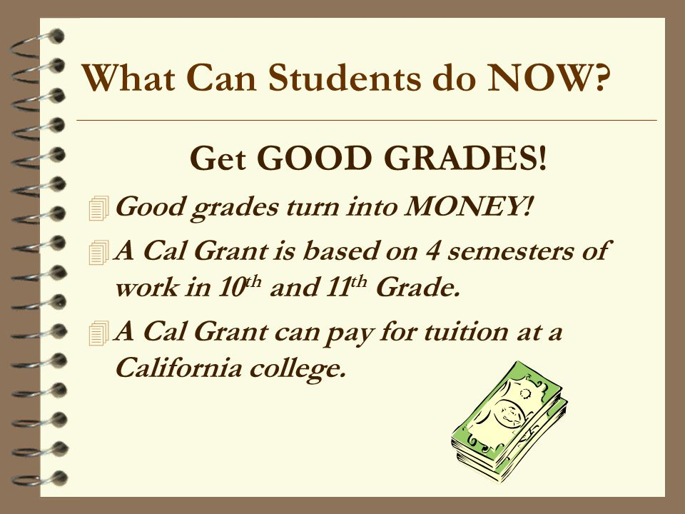 What Can Students do NOW