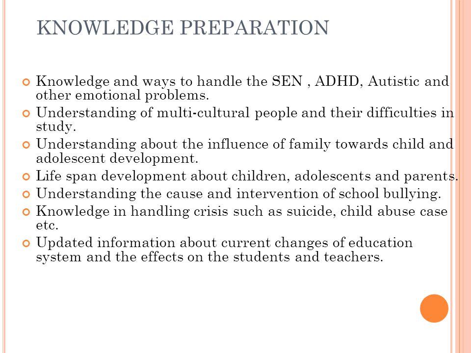 KNOWLEDGE PREPARATION