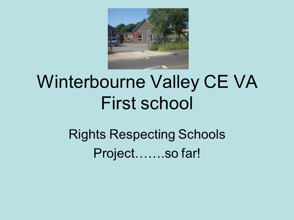 Winterbourne Valley CE VA First school