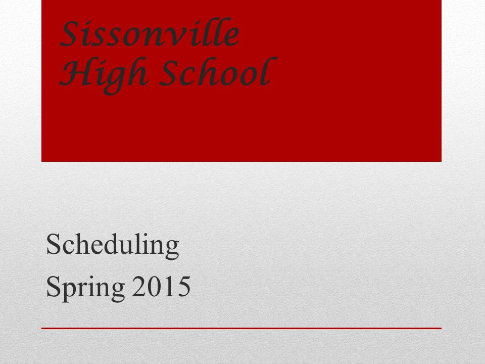 Sissonville High School