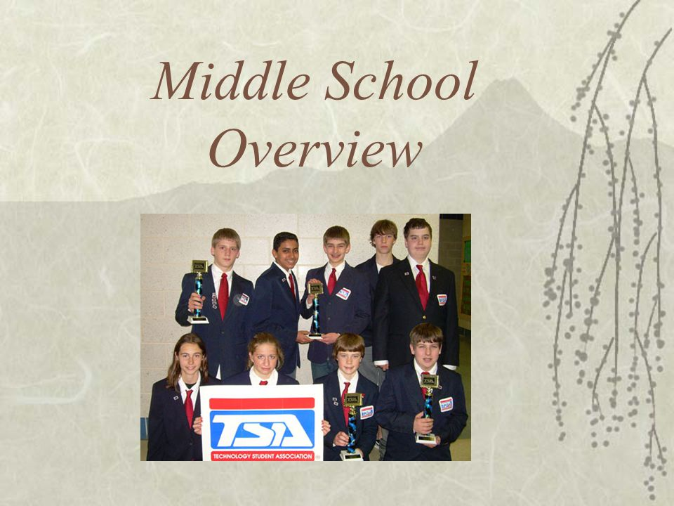 Middle School Overview