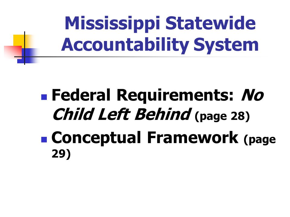 Mississippi Statewide Accountability System