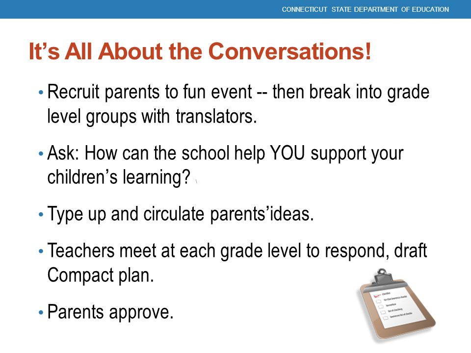 It's All About the Conversations!