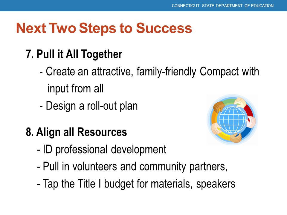 Next Two Steps to Success