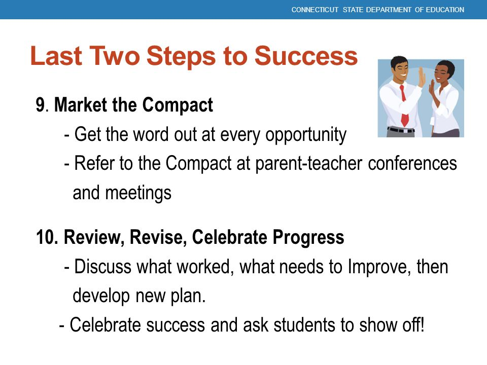 Last Two Steps to Success