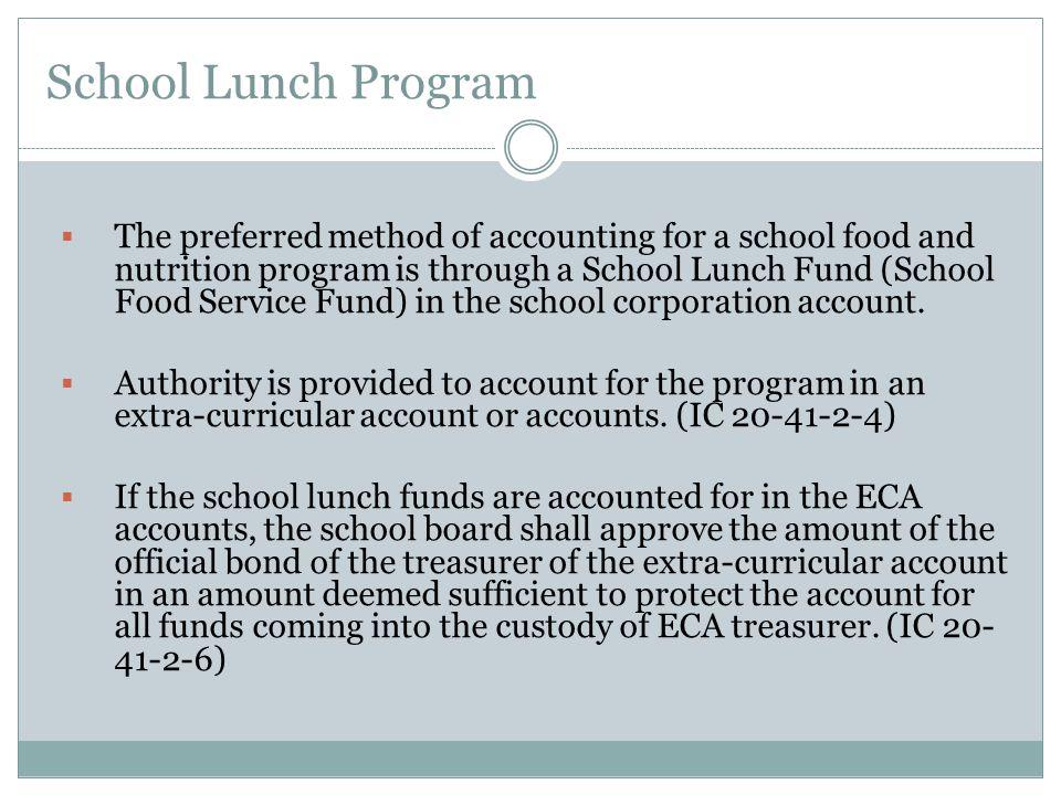 School Lunch Program