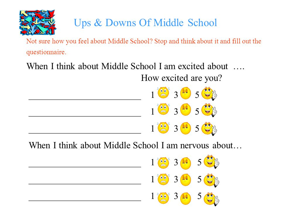 Ups & Downs Of Middle School