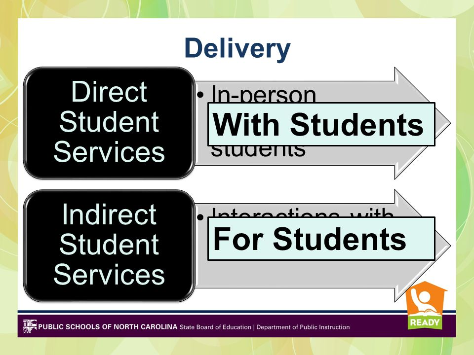 With Students For Students Direct Student Services