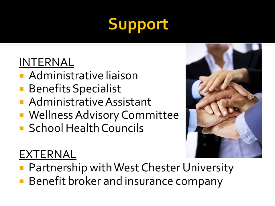 Support INTERNAL Administrative liaison Benefits Specialist