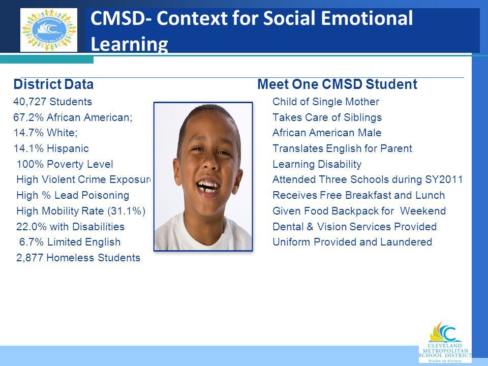 CMSD- Context for Social Emotional Learning