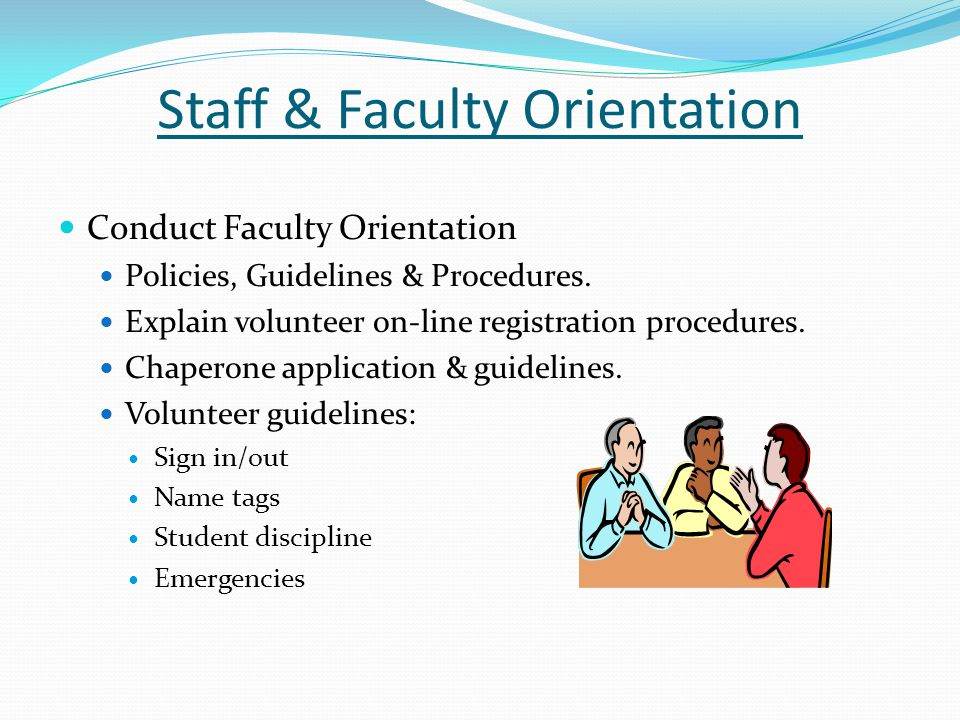 Staff & Faculty Orientation