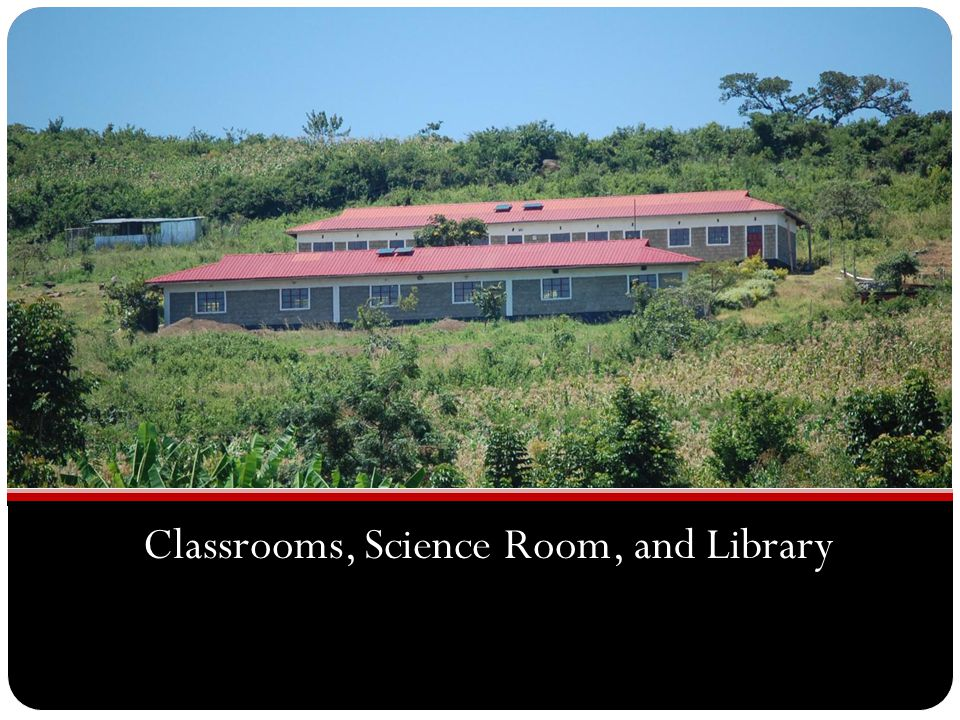 Classrooms, Science Room, and Library