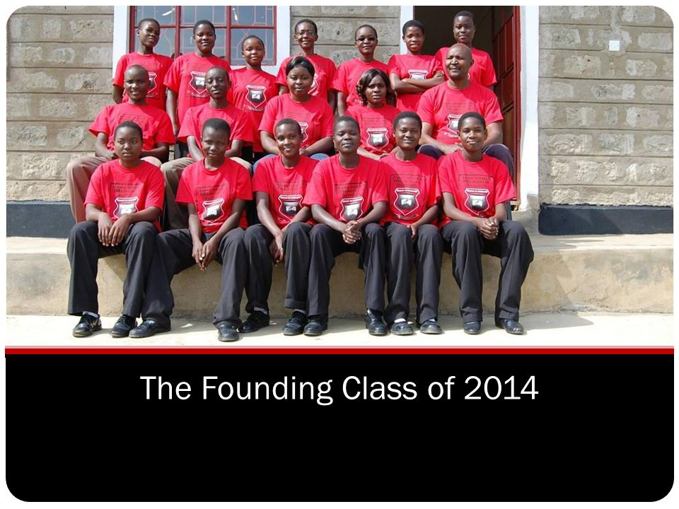 The Founding Class of 2014