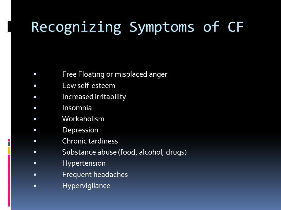 Recognizing Symptoms of CF