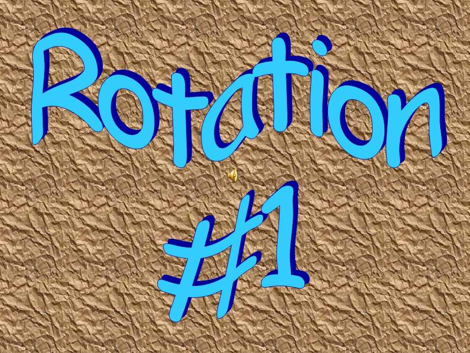 Rotation #1