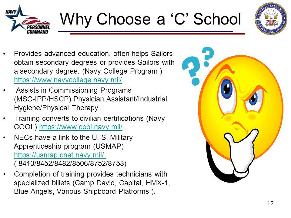 Why Choose a 'C' School