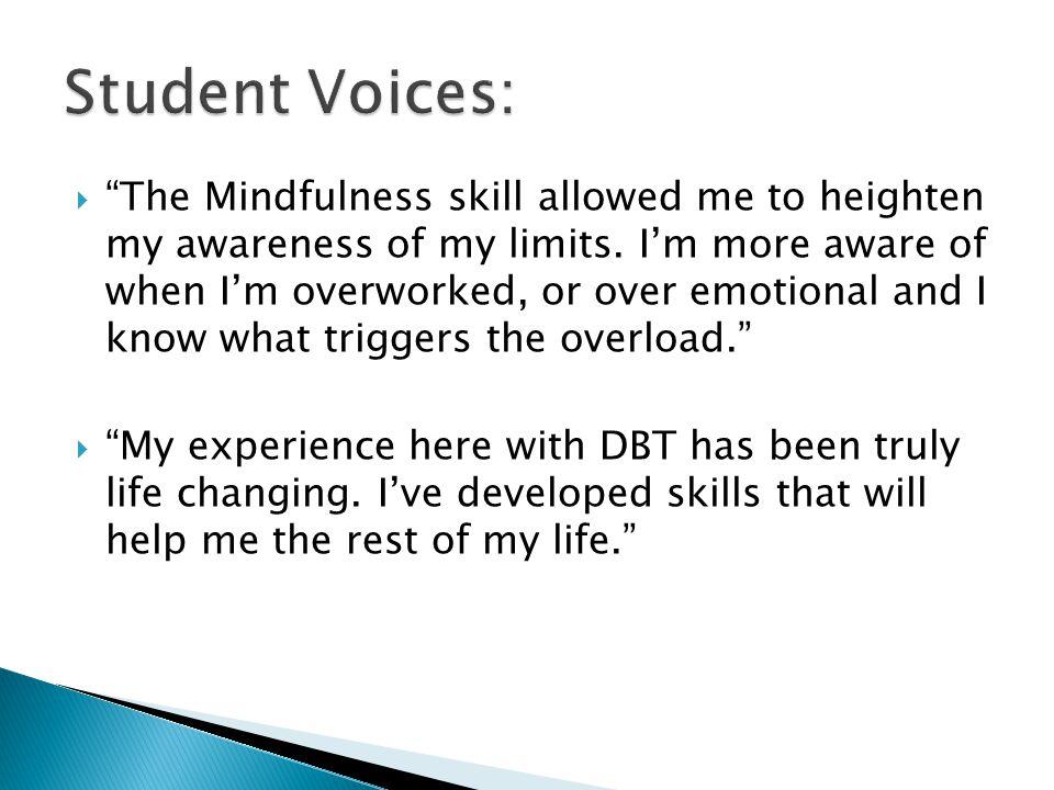 Student Voices: