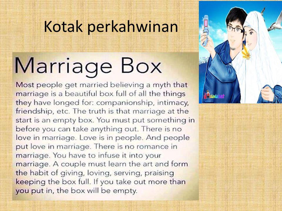 Kotak perkahwinan