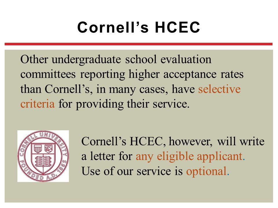 Cornell's HCEC