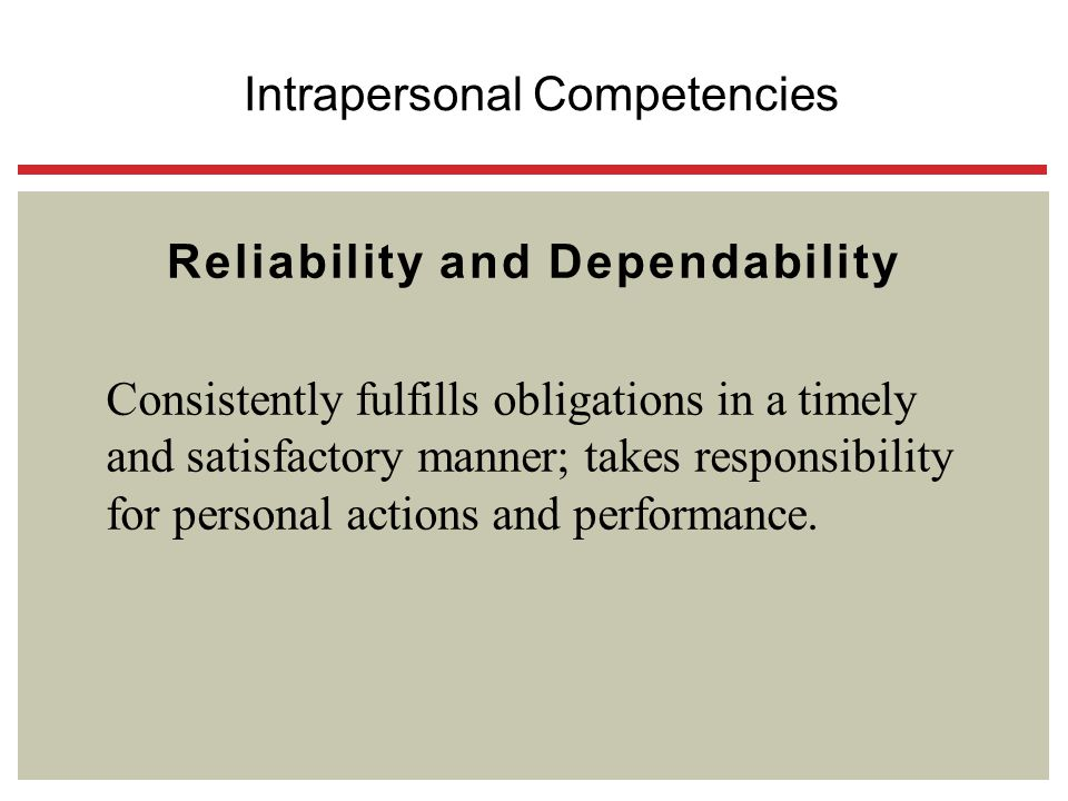 Reliability and Dependability