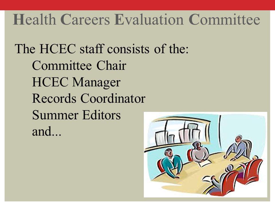 Health Careers Evaluation Committee