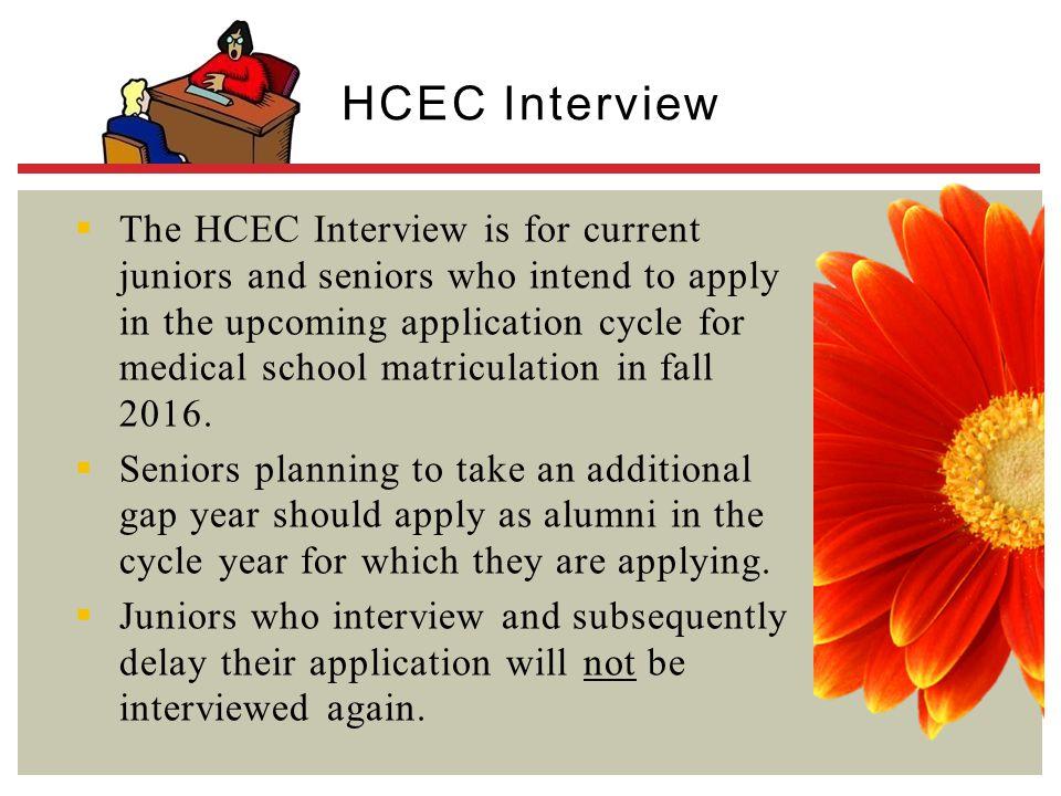 HCEC Interview