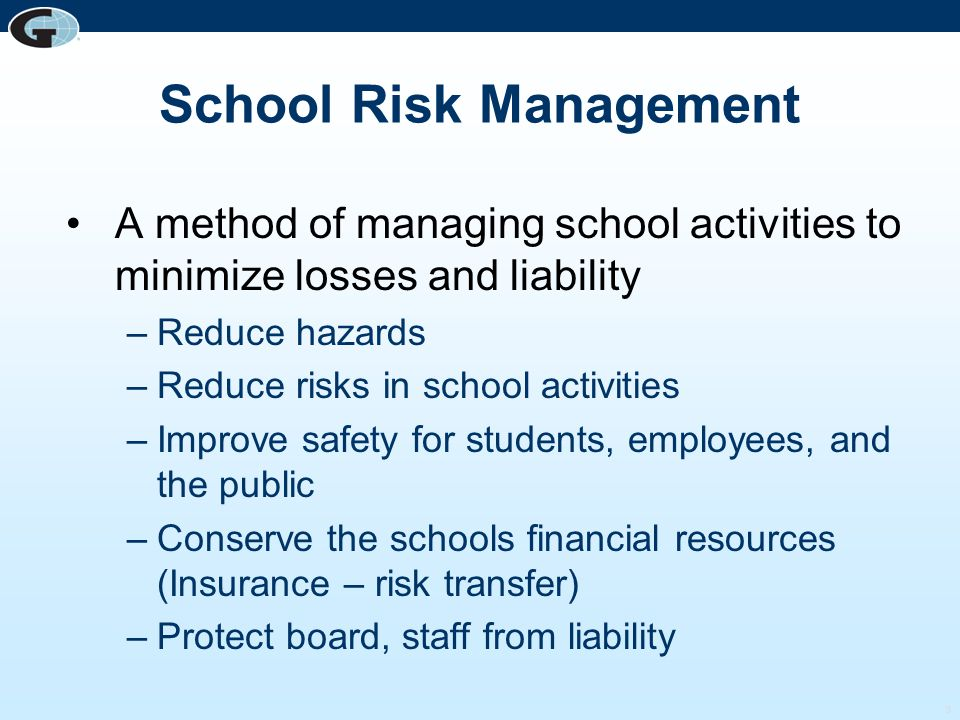 School Risk Management