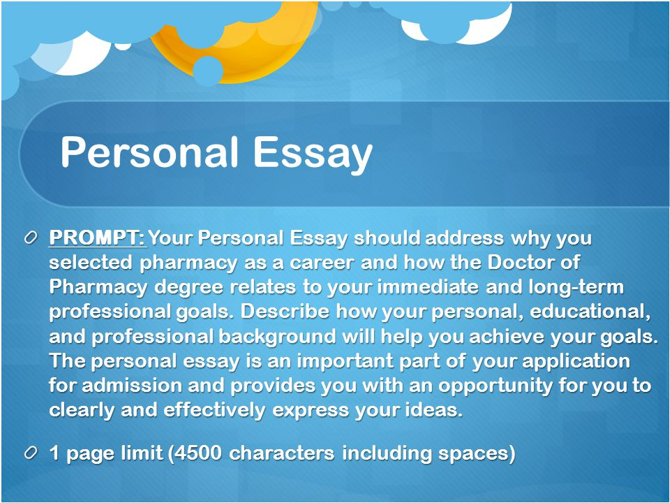 Professional Essay Samples