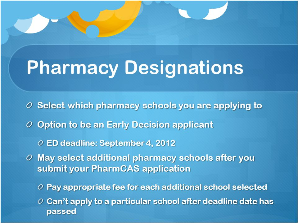 Pharmacy Designations