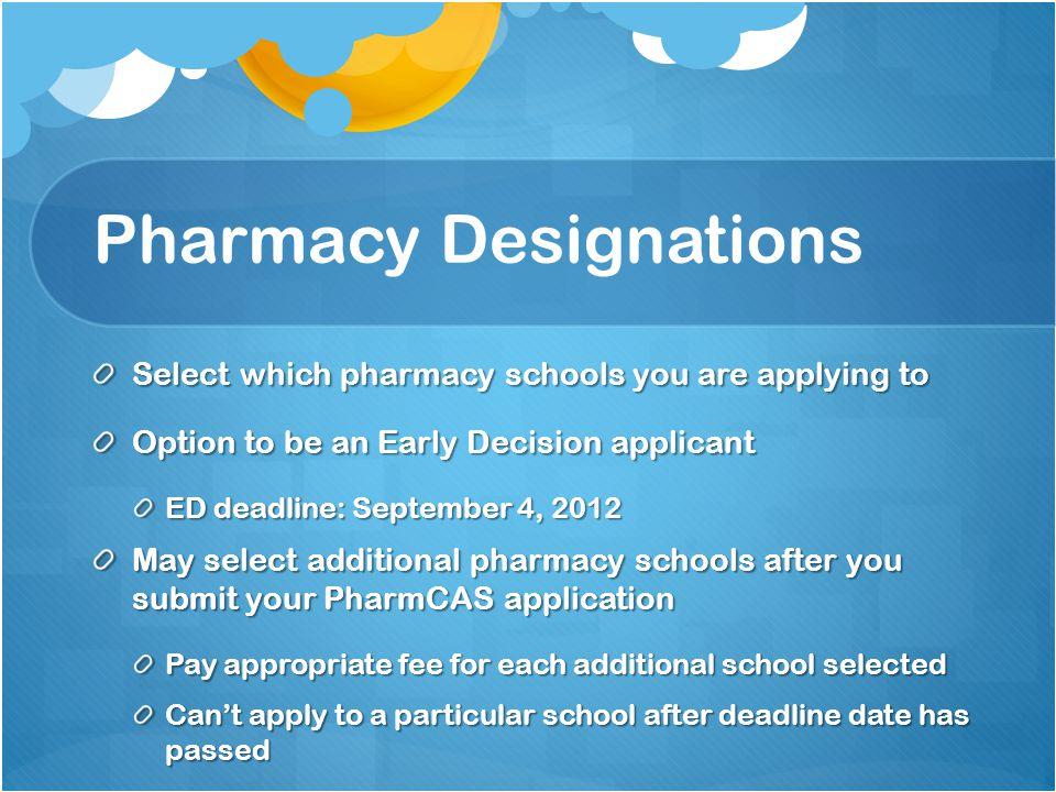 Pharmacy Designations