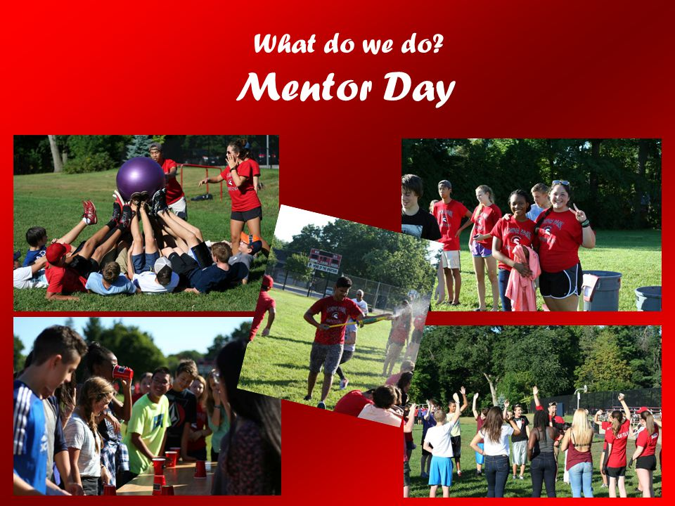 What do we do Mentor Day