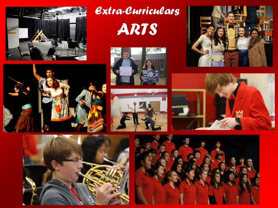 Extra-Curriculars ARTS