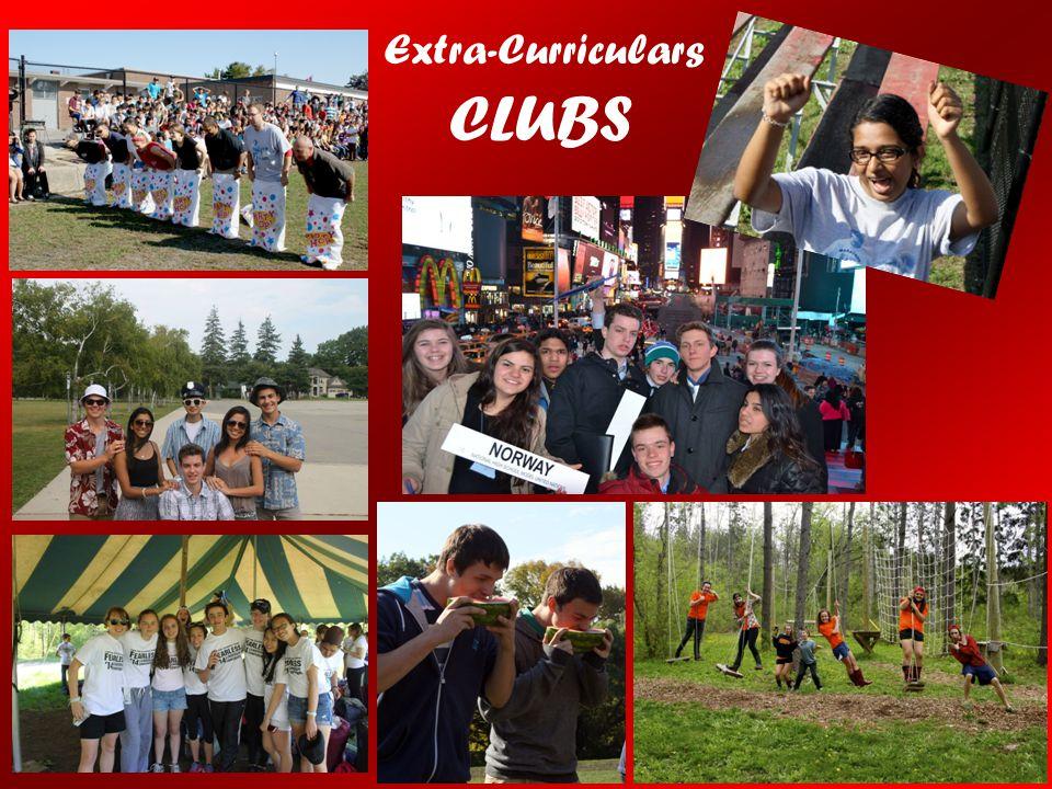 Extra-Curriculars CLUBS