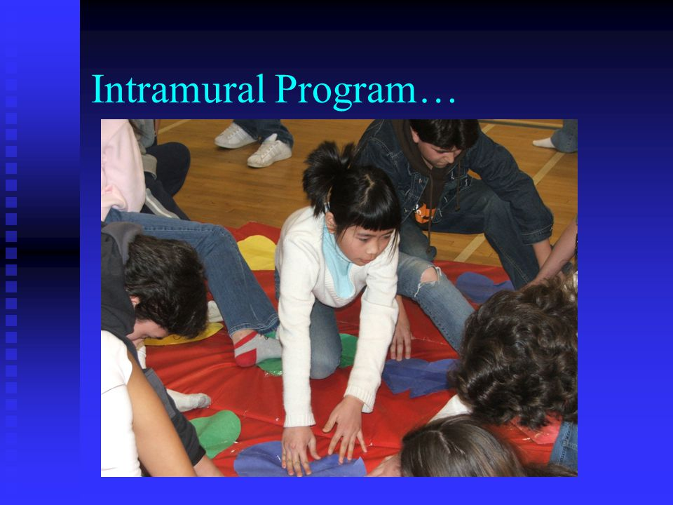 Intramural Program…