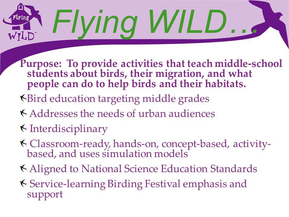 Flying WILD…