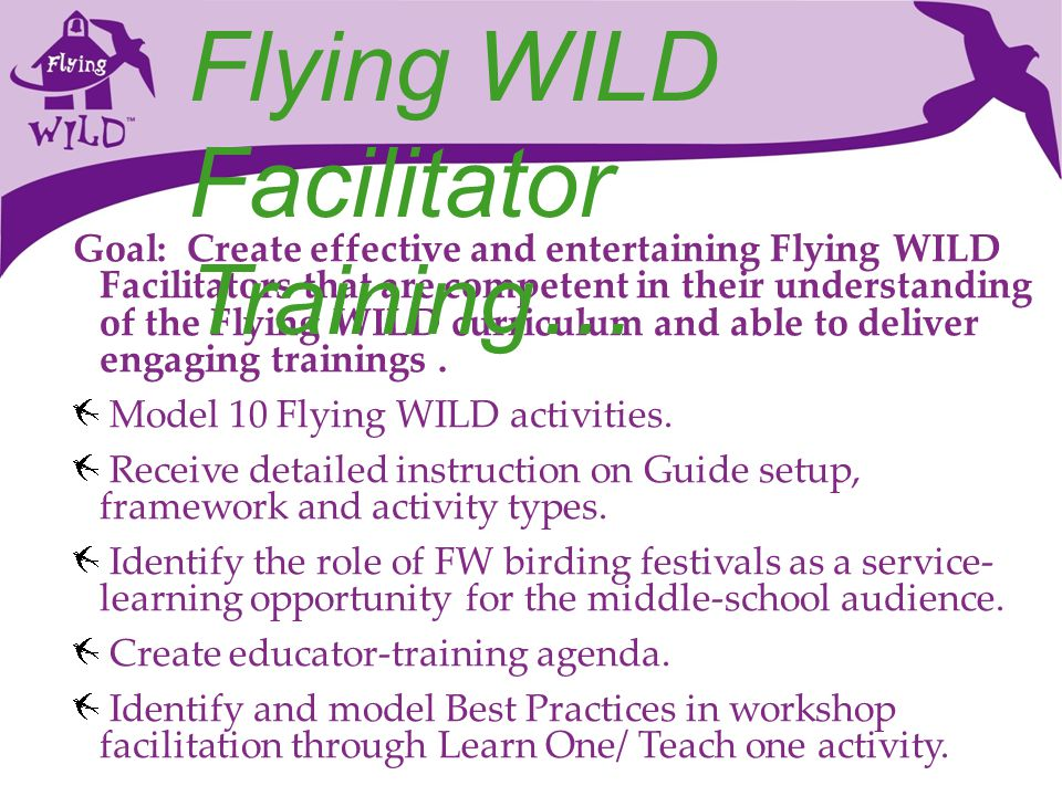Facilitator Training…