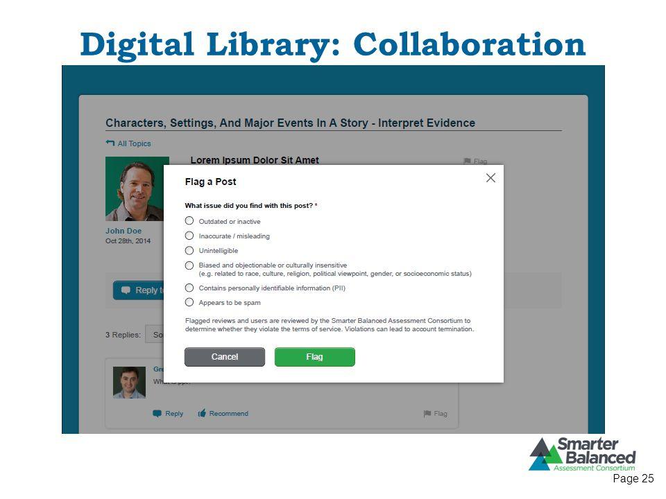 Digital Library: Collaboration