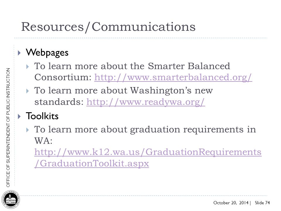 Resources/Communications