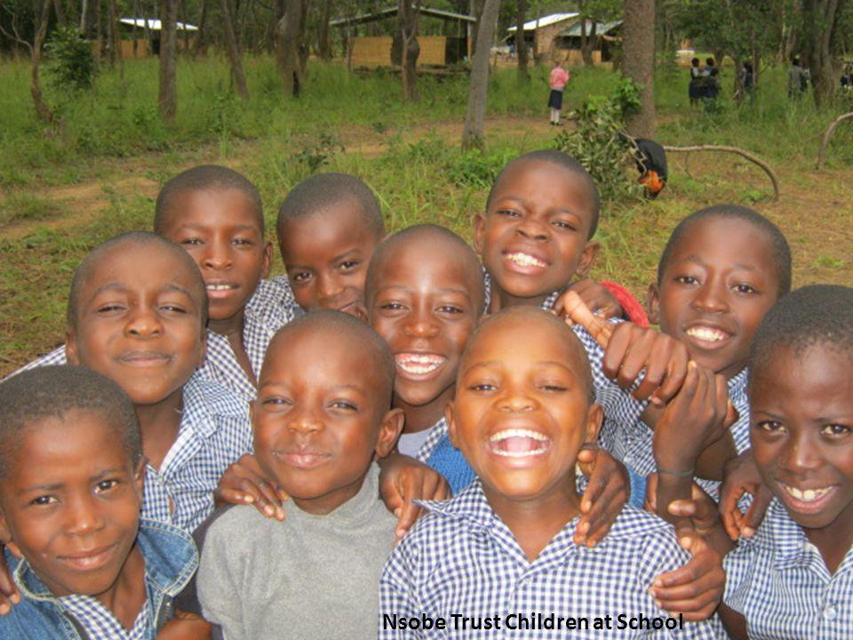 Nsobe Trust Children at School