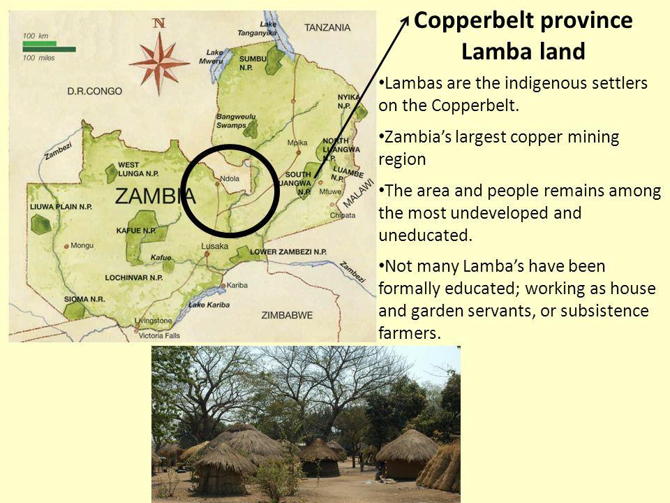 Copperbelt province Lamba land